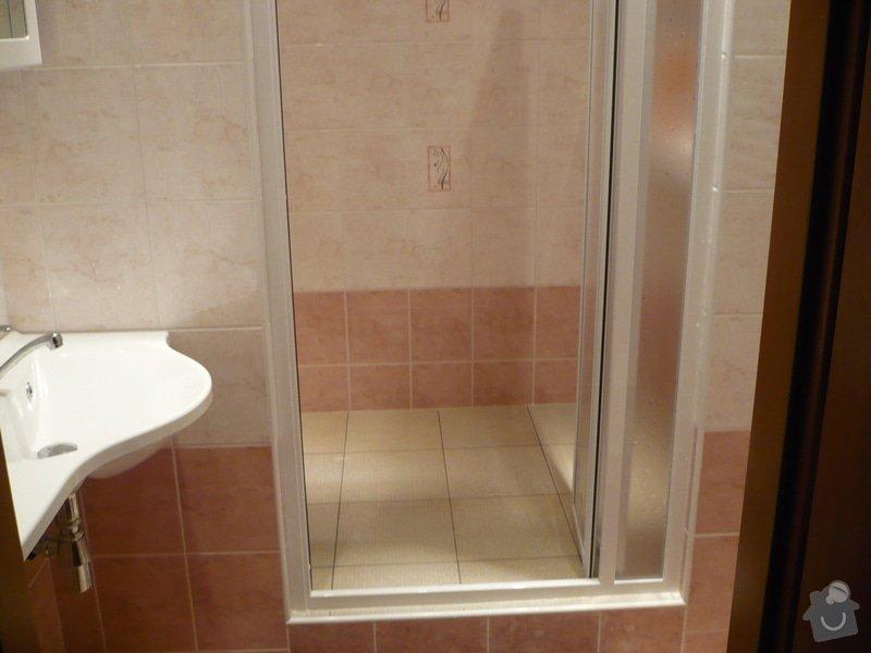 Předělání koupelny z umakartového jádra na zděné + změna místo vany sprchoví kout zděný: P1010673