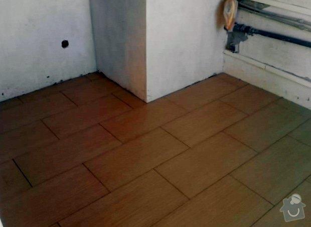 Rekonstrukce bytu 3+1 Praha: Dlazba_kuchyn_1_