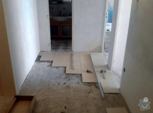 Rekonstrukce bytu 3+1 Praha: Dlazba_chodba_8_