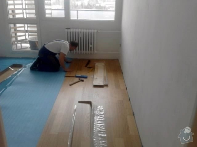 Rekonstrukce bytu 3+1 Praha: Pokladka_8_