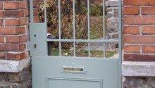 Lakování (nástřik, stříkání) kovové brány a branky