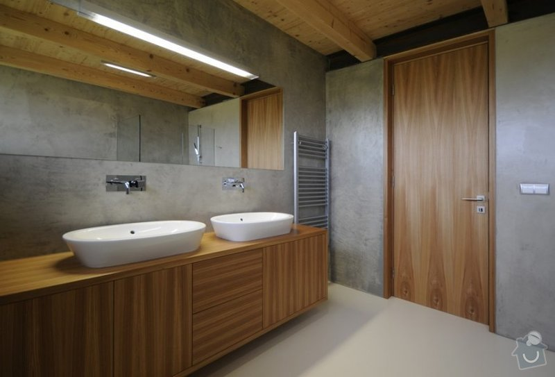 Imitace betonu / betonova stěrku do koupelny a WC: imitace-betonu-interier-fasada-bazen-koupelna3