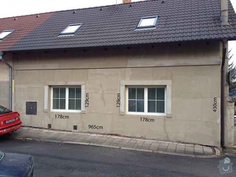 Zateplení a fasáda RD Kladno : pohled_z_ulice_low