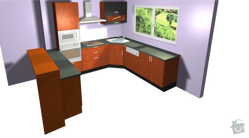 Výroba a montáž kuchyně: pohled2
