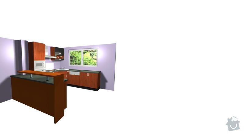 Výroba a montáž kuchyně: pohled4