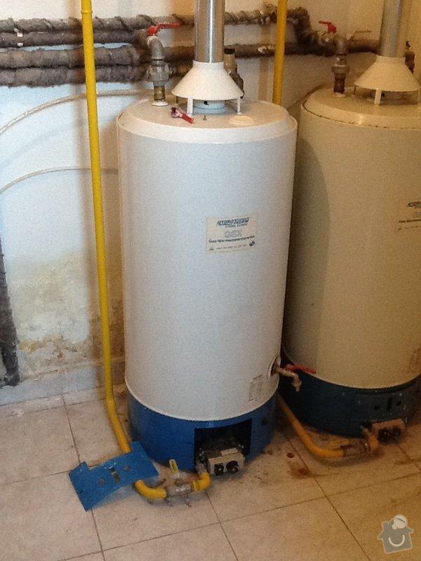 Výměna plynového boileru: boiler