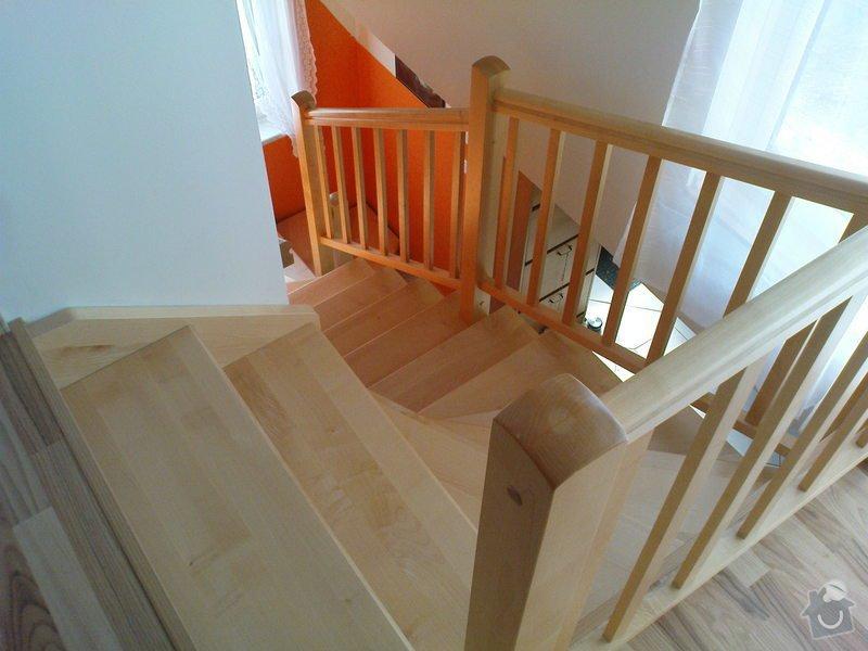 Výroba schodiště: schodiste