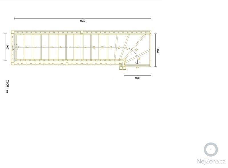 Výroba schodiště: Schody2