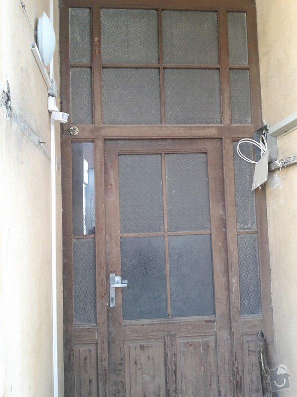 Repas dřevěných balkónových dvěří: IMG_20120303_110452