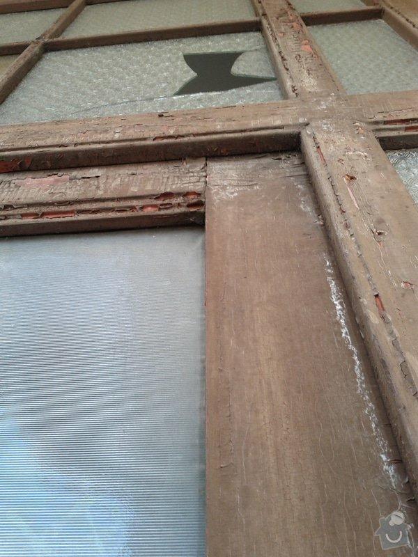 Repas dřevěných balkónových dvěří: IMG_20120303_110853