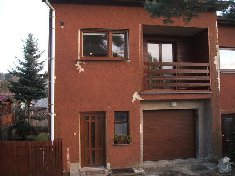 Zeteplení fasády rodinného domu cca 120 m2.: DSCF8202