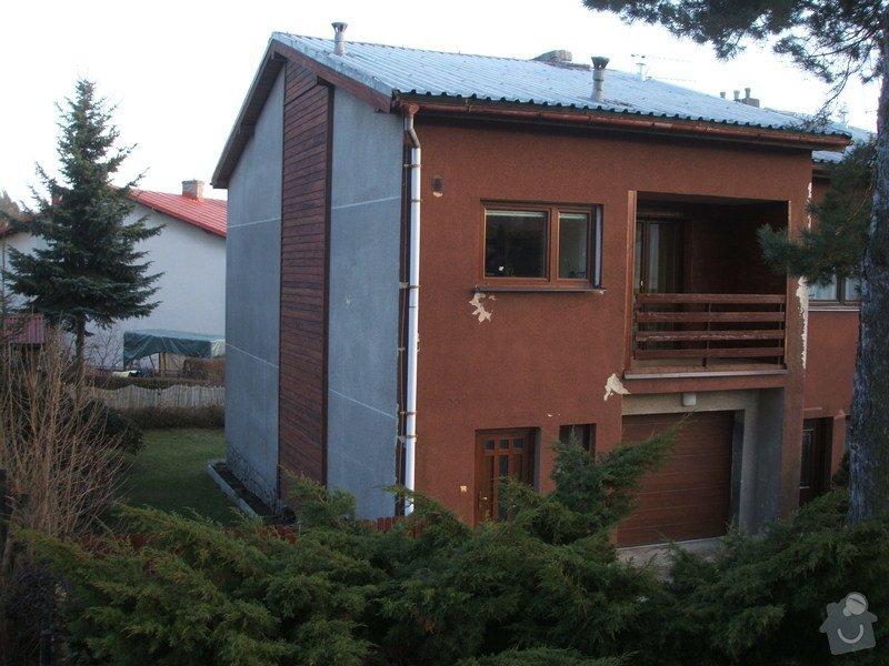 Zeteplení fasády rodinného domu cca 120 m2.: DSCF8204