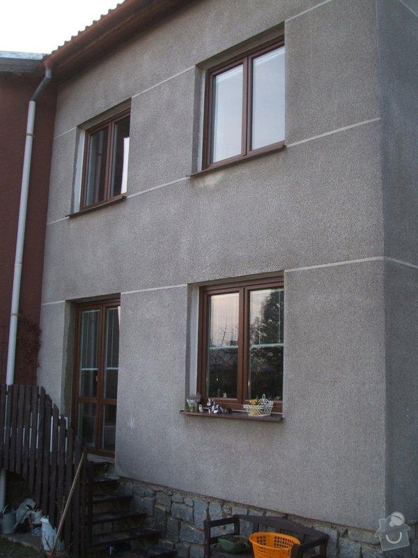 Zeteplení fasády rodinného domu cca 120 m2.: DSCF8207