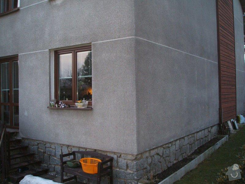 Zeteplení fasády rodinného domu cca 120 m2.: DSCF8211