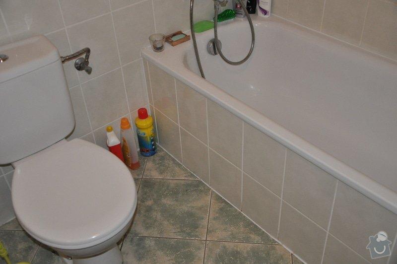 Zednické práce v koupelně: 1