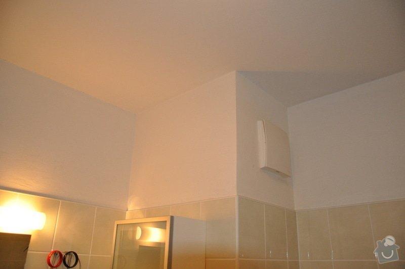 Zednické práce v koupelně: 3