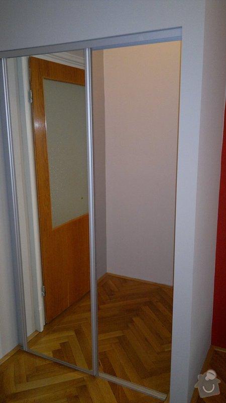Knihovna, posuvné dveře, dělící stěna: 2012-02-29-126
