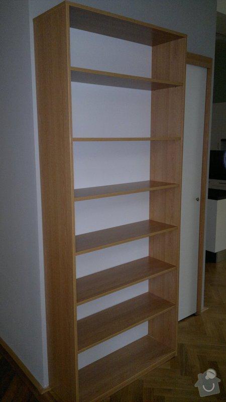 Knihovna, posuvné dveře, dělící stěna: 2012-02-29-128
