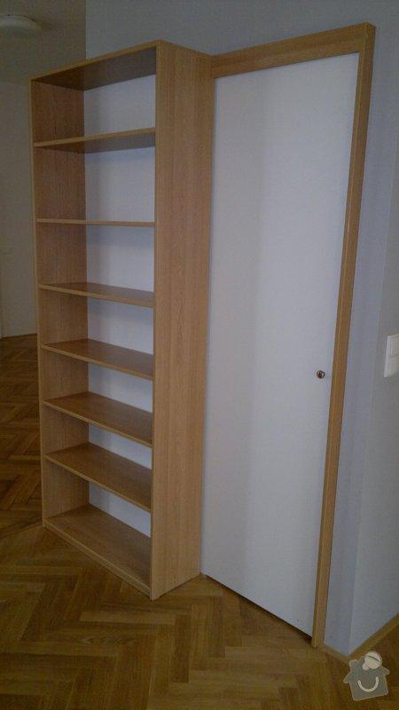 Knihovna, posuvné dveře, dělící stěna: 2012-02-29-129