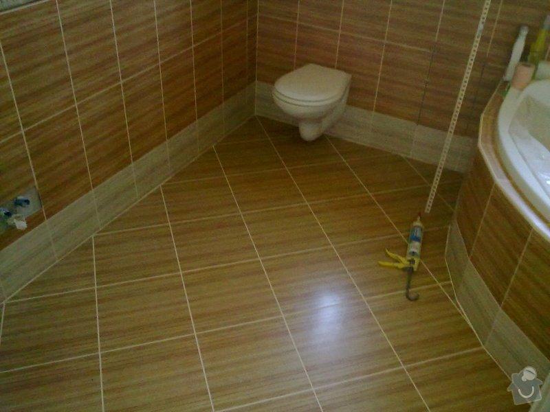 Rekonstrukce koupelny, obklady, dlažba: 30092011558