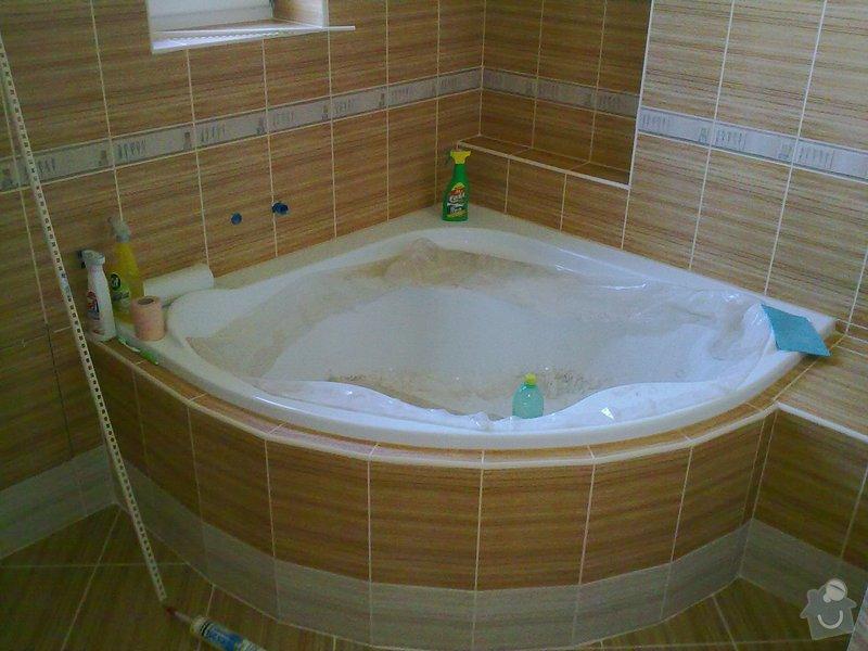 Rekonstrukce koupelny, obklady, dlažba: 30092011559