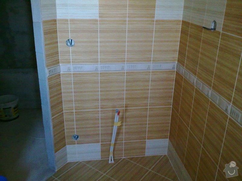 Rekonstrukce koupelny, obklady, dlažba: 30092011562