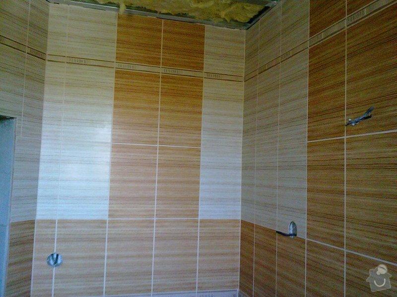 Rekonstrukce koupelny, obklady, dlažba: 30092011563