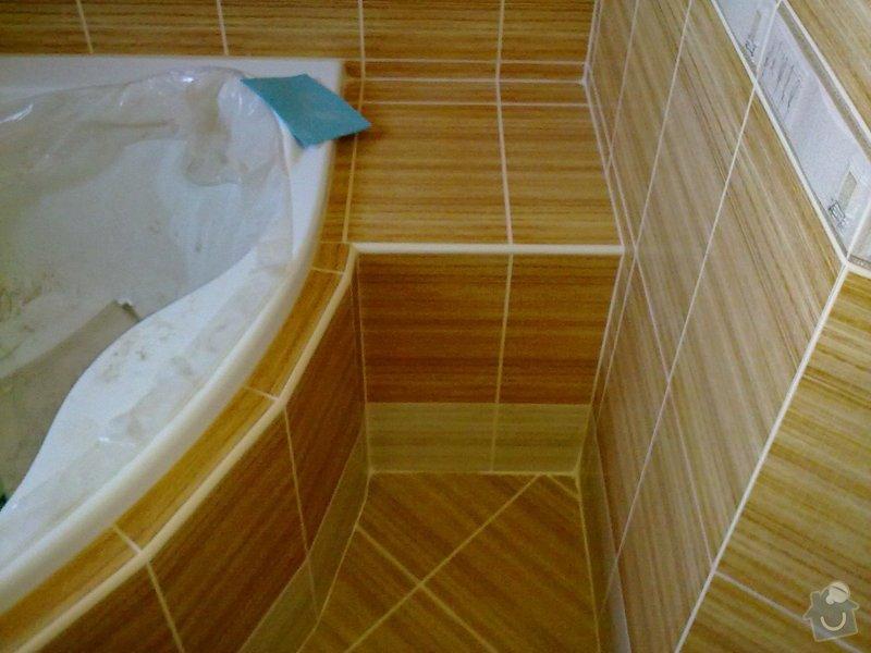 Rekonstrukce koupelny, obklady, dlažba: 30092011568