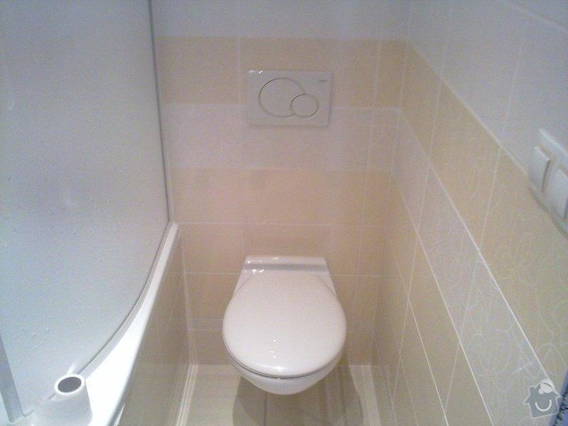 Kompletní rekonstrukce bytového jádra, vyzdění jádra, obložení , podezdění vany a umyvadla, dlažba, štukové omítky: 06082011346