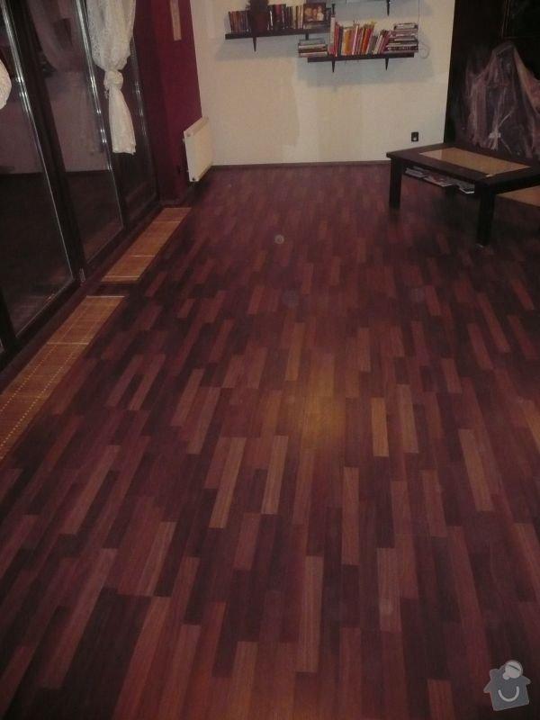 Laminátová plovoucí podlaha: 1