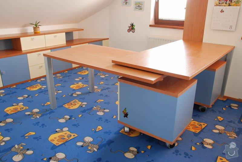 Návrh a dodávka nábytku do dětského pokoje: 021