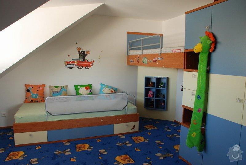 Návrh a dodávka nábytku do dětského pokoje: 001