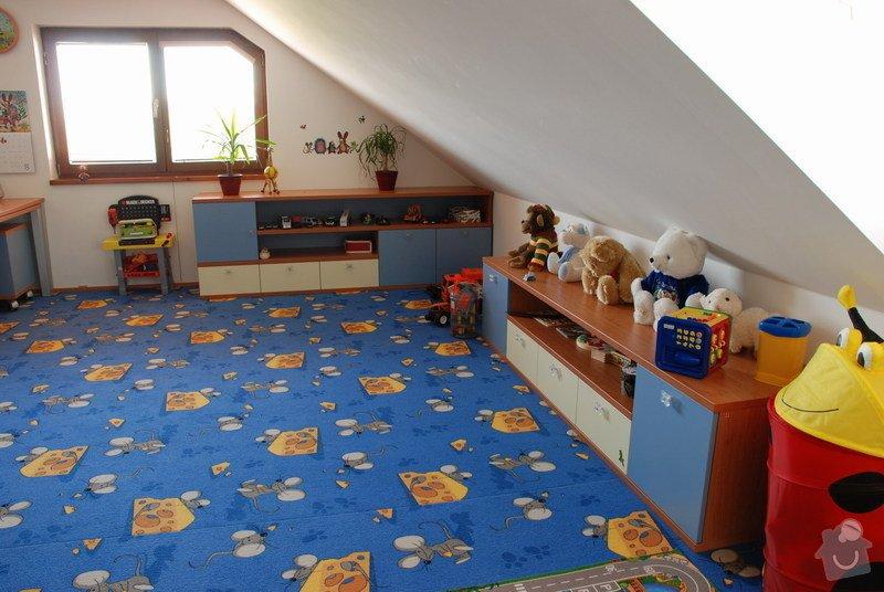 Návrh a dodávka nábytku do dětského pokoje: 010