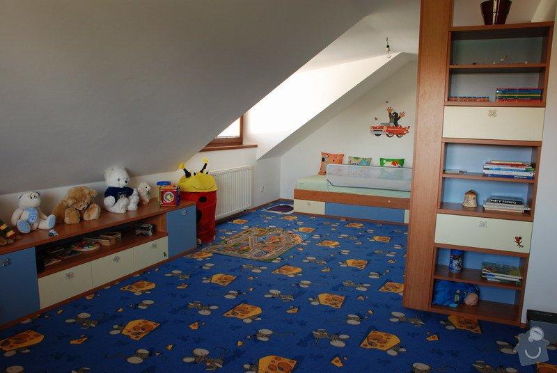 Návrh a dodávka nábytku do dětského pokoje: 011