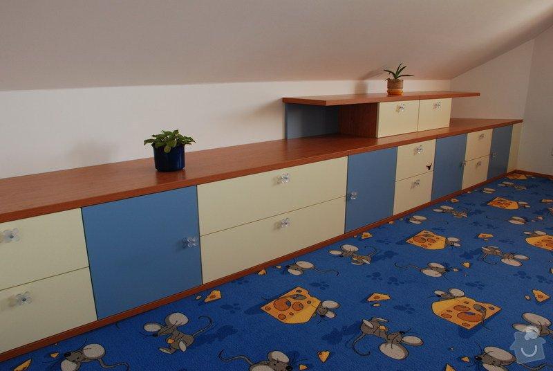 Návrh a dodávka nábytku do dětského pokoje: 013