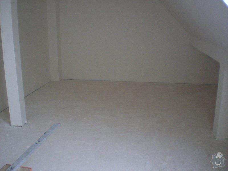 Pokladka plovouci podlahy a dlazby, obklad kuchyne: P2290017
