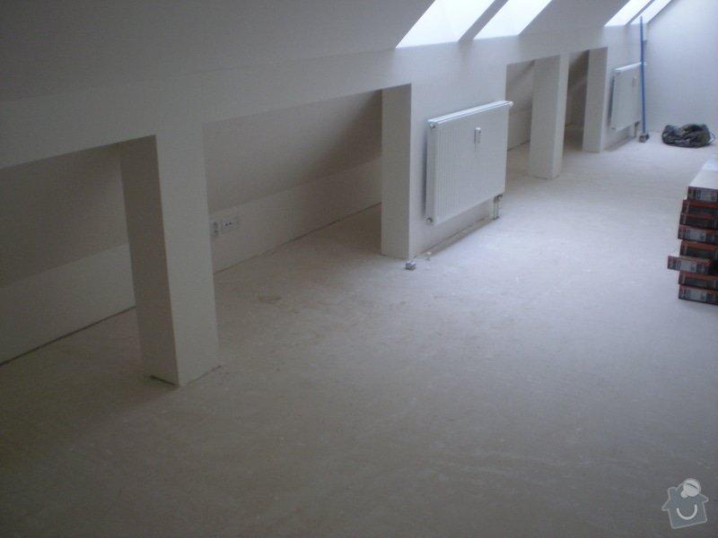 Pokladka plovouci podlahy a dlazby, obklad kuchyne: P2290018