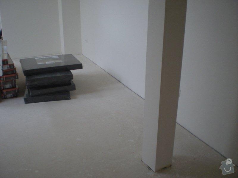 Pokladka plovouci podlahy a dlazby, obklad kuchyne: P2290019