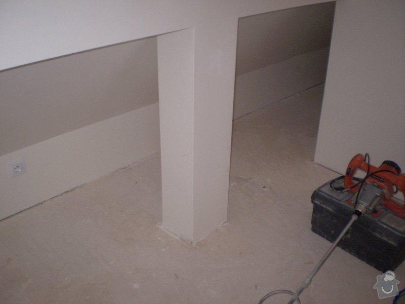 Pokladka plovouci podlahy a dlazby, obklad kuchyne: P2290022
