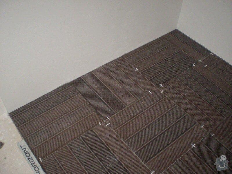 Pokladka plovouci podlahy a dlazby, obklad kuchyne: P3010001