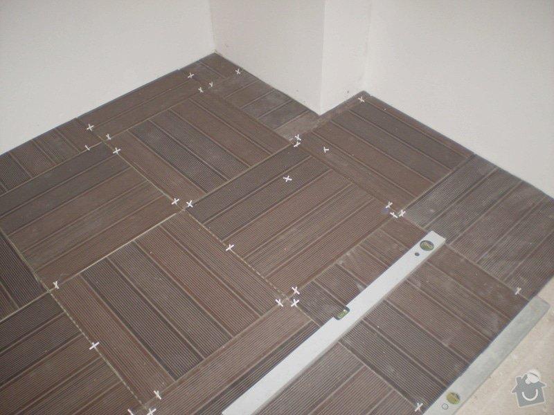 Pokladka plovouci podlahy a dlazby, obklad kuchyne: P3010002
