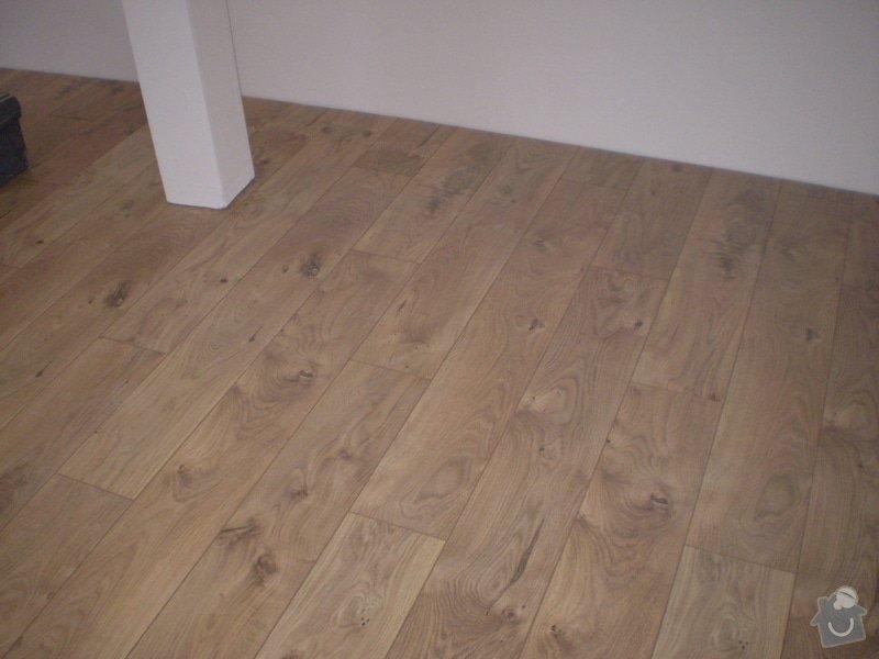 Pokladka plovouci podlahy a dlazby, obklad kuchyne: P3010005