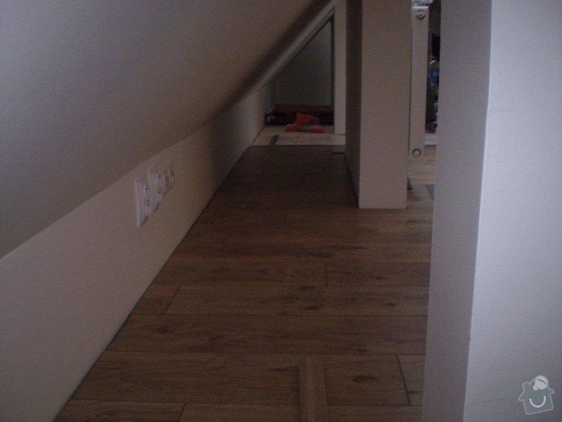Pokladka plovouci podlahy a dlazby, obklad kuchyne: P3010007