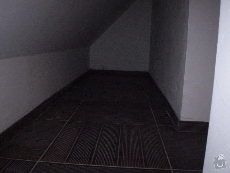Pokladka plovouci podlahy a dlazby, obklad kuchyne: P3020003