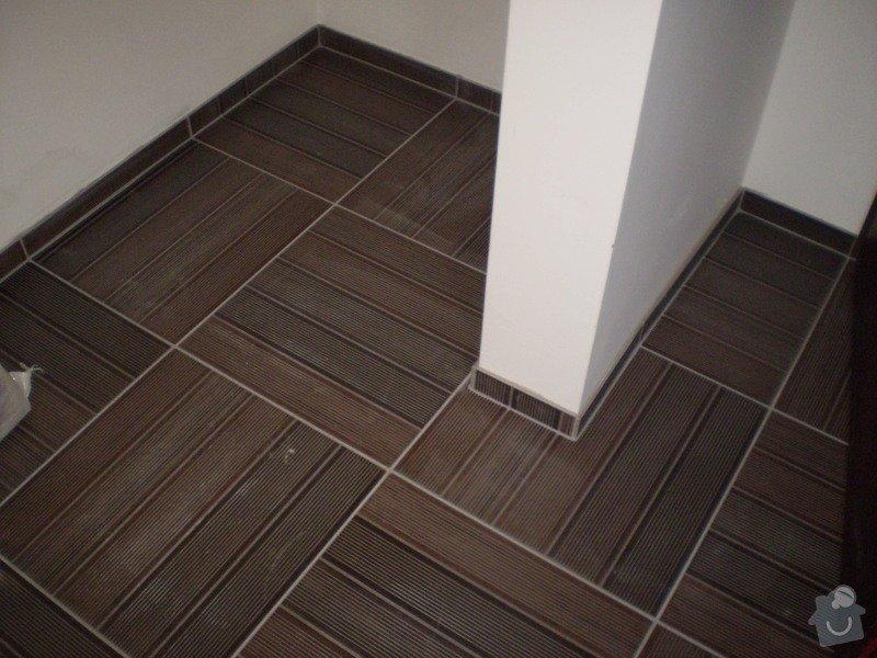 Pokladka plovouci podlahy a dlazby, obklad kuchyne: P3030002