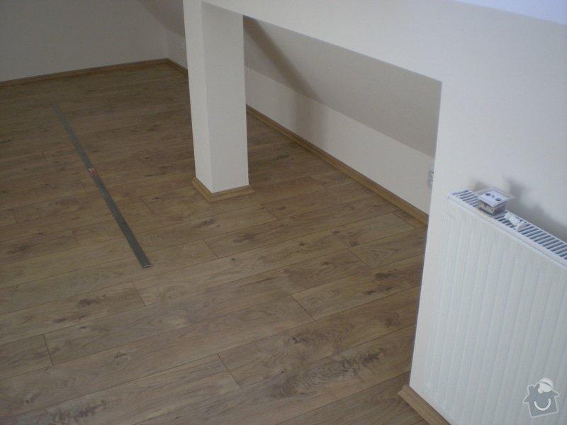 Pokladka plovouci podlahy a dlazby, obklad kuchyne: P3030004