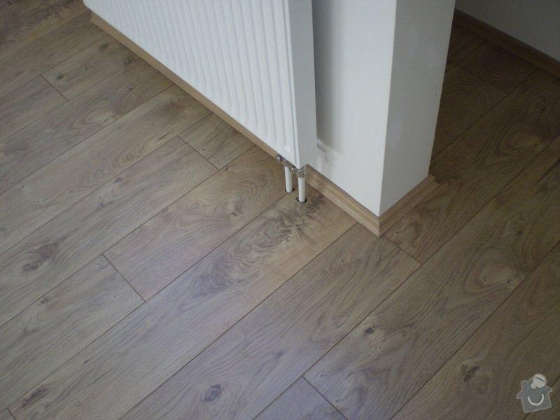 Pokladka plovouci podlahy a dlazby, obklad kuchyne: P3030003