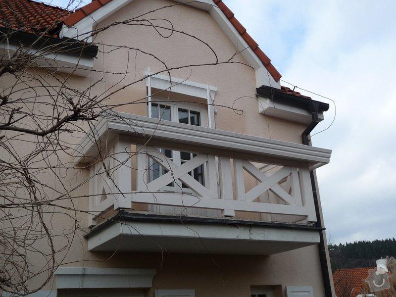 Rekonstrukce balkónu - výroba nového zábradlí: P1050914