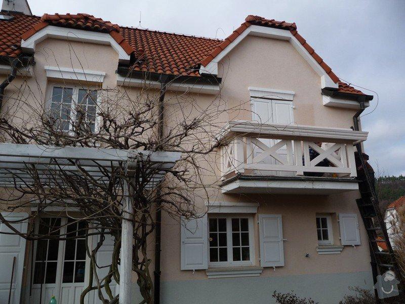 Rekonstrukce balkónu - výroba nového zábradlí: P1050907