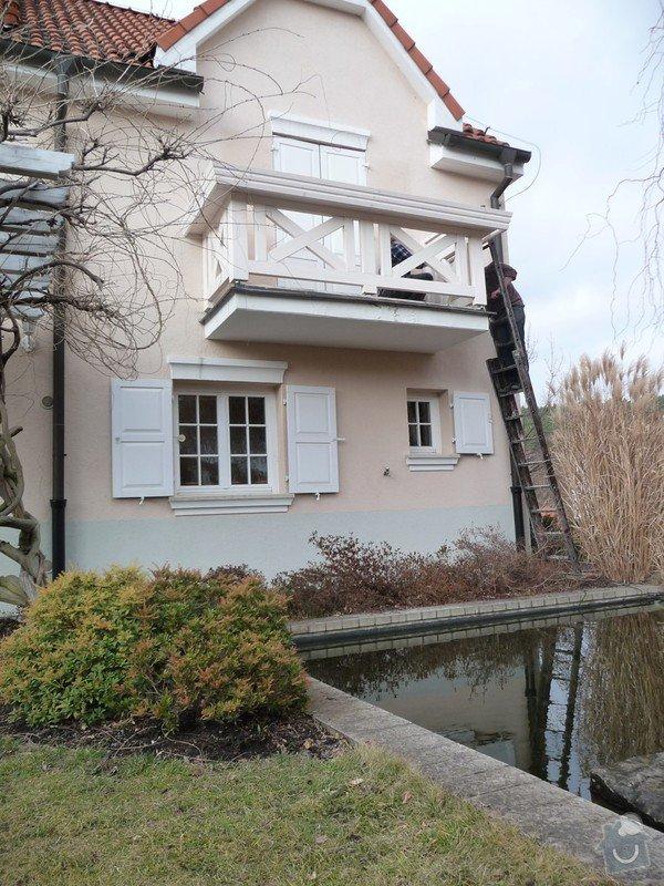 Rekonstrukce balkónu - výroba nového zábradlí: P1050908